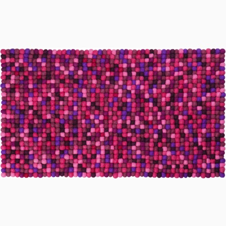 myfelt Viola Table Runner purple, 40 x 70 cm (also available in 40 x 140 cm)