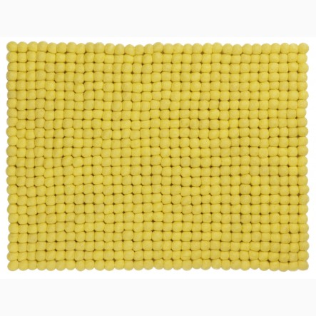myfelt Malina Place Mat / Table Mat yellow, rectangular, 35 x 45 cm
