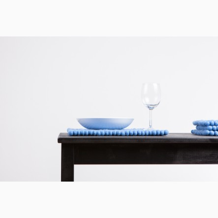 myfelt Mavi Place Mat blue, rectangular, 35 x 45 cm