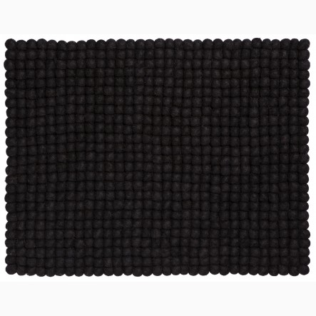 myfelt Nero Place Mat / Table Mat black, rectangular, 35 x 45 cm